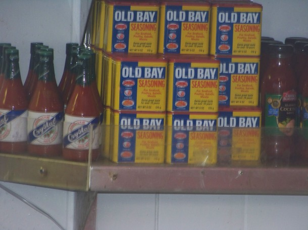 I've quickly learned that Old Bay is a necessity