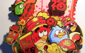 Ringing in the Chinese New Year with Angry Birds