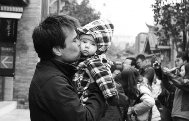 baby at kuan zhai xiang zi chengdu