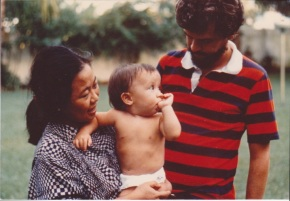 Foreign Service Family Photo Albums from Bangladesh in 1977 (or how my hubs was a cute baby)